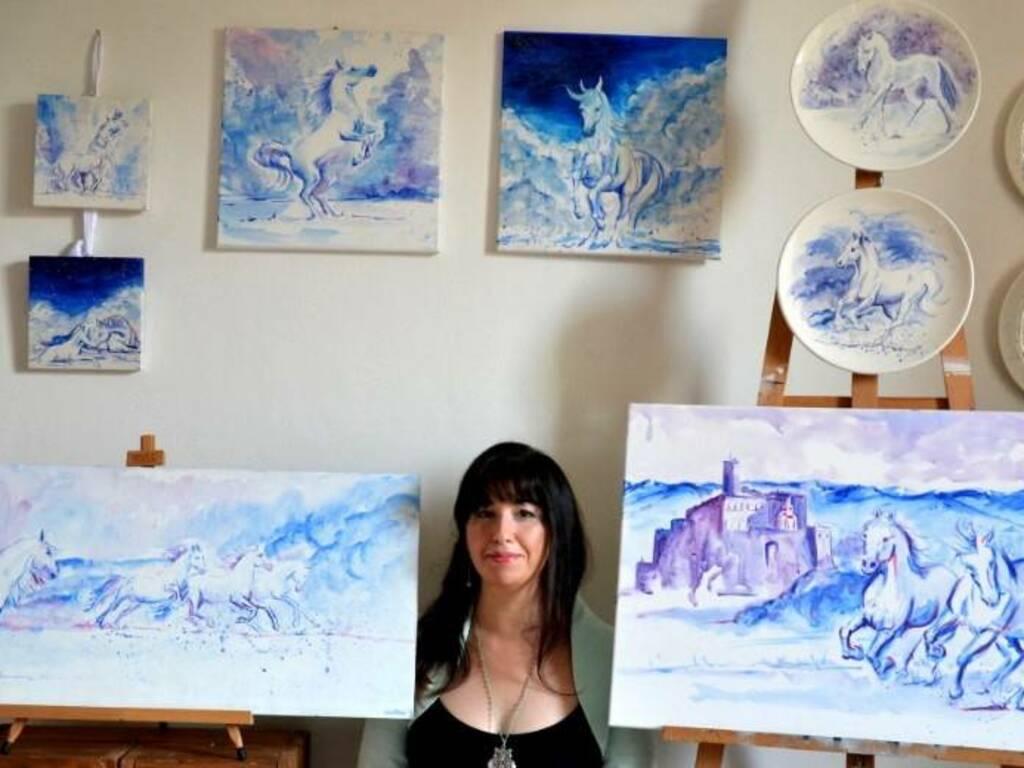 "Carcare ""Sogni di vite mai vissute"" mostra pittura Laura Di Fonzo"