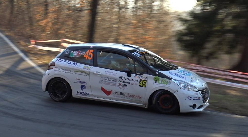 New Racing for Genova vola con Luca Fredducci al Rally dei Laghi