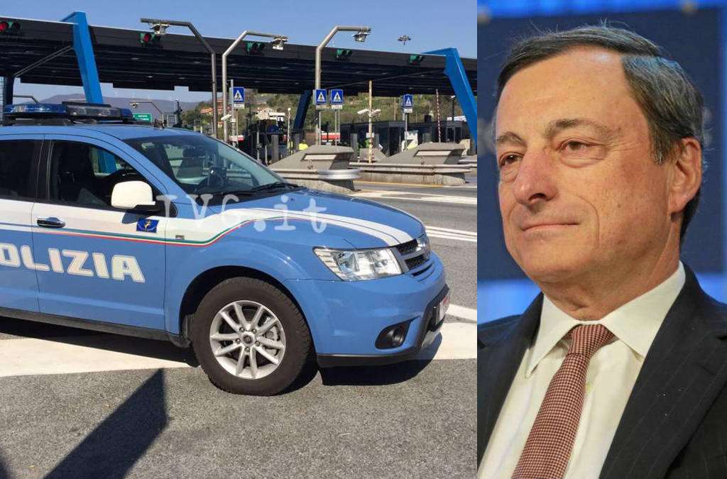 draghi polizia controlli lockdow