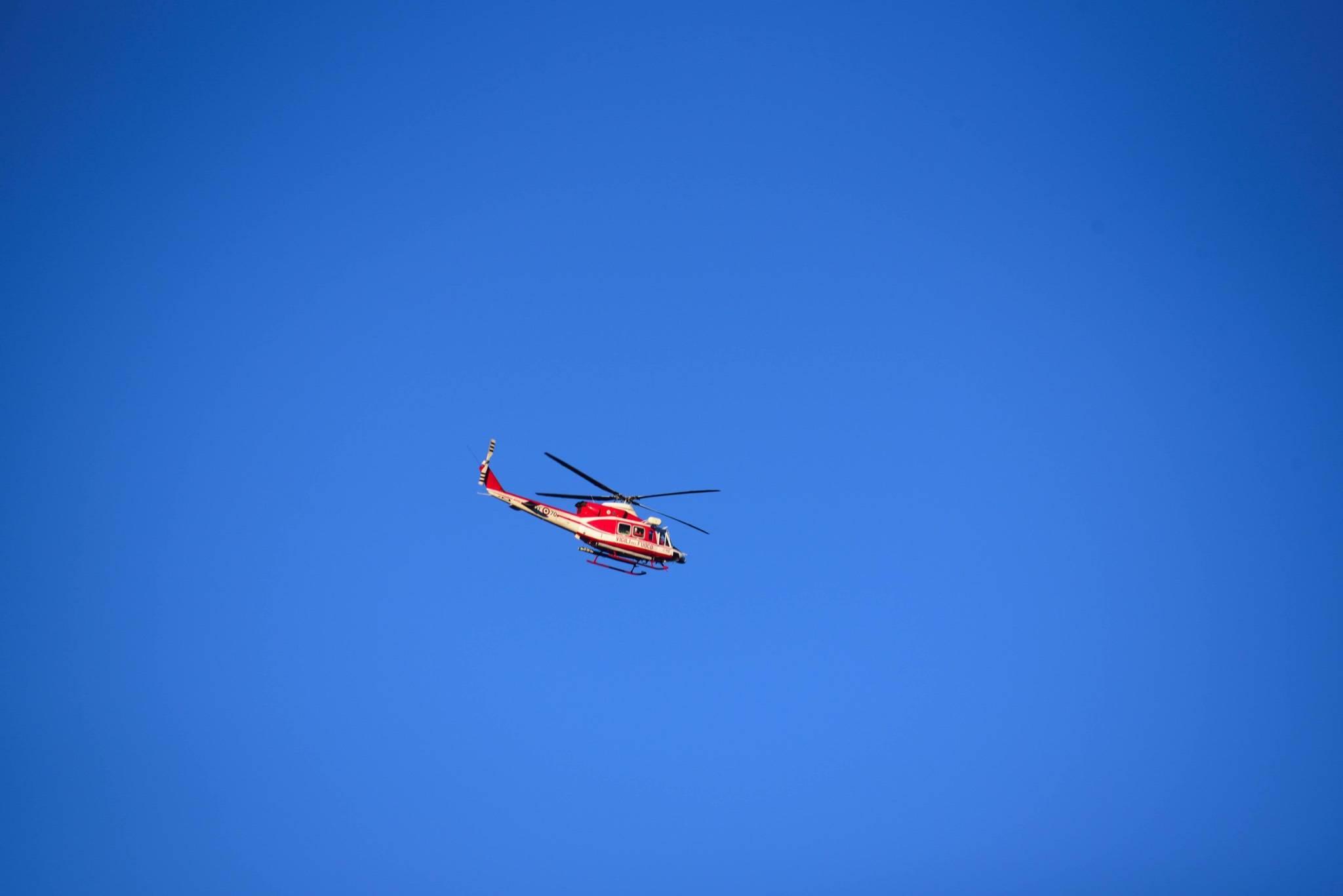 elicottero elisoccorso Drago Vvff vigili del fuoco CITARE AUTORE ROBERTO ROSSI
