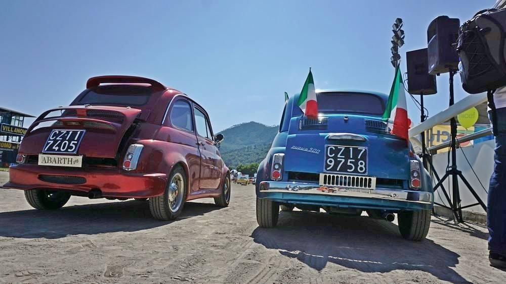 Garlenda Meeting Fiat 500