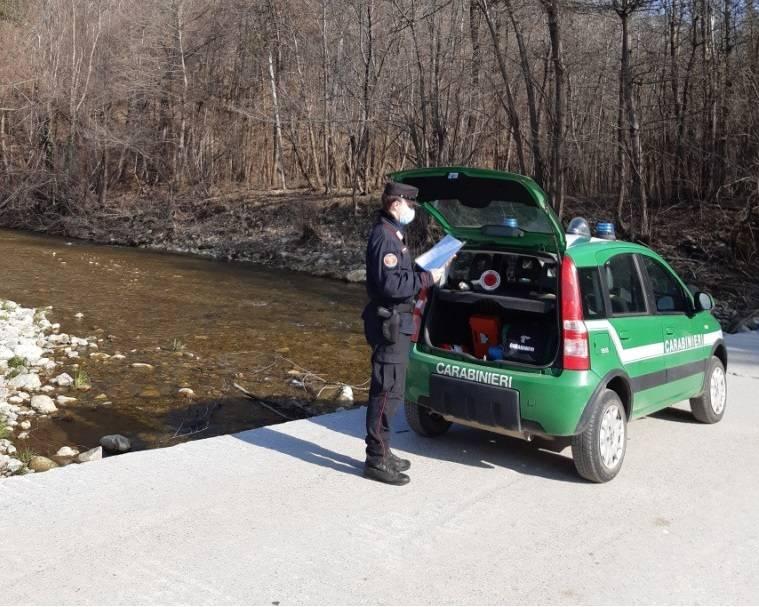 Controlli Pesca Carabinieri Forestali Bormida