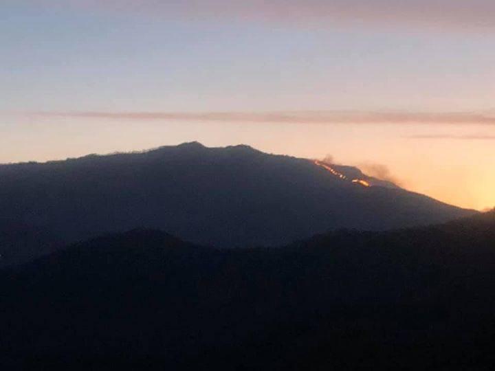 incendio monte caucaso moconesi