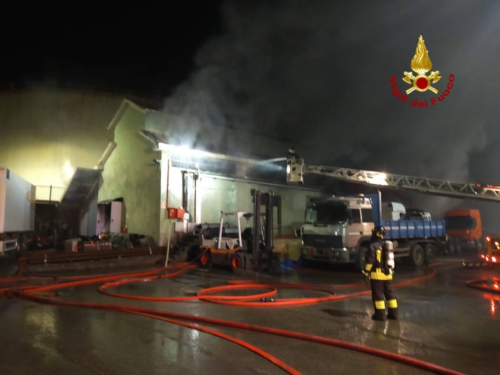 incendio via romairone