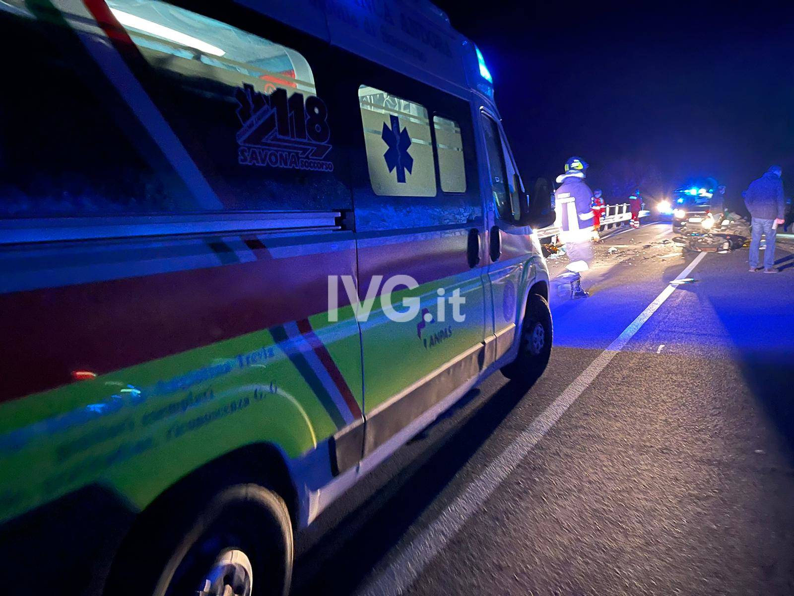 Incidente mortale ad Andora