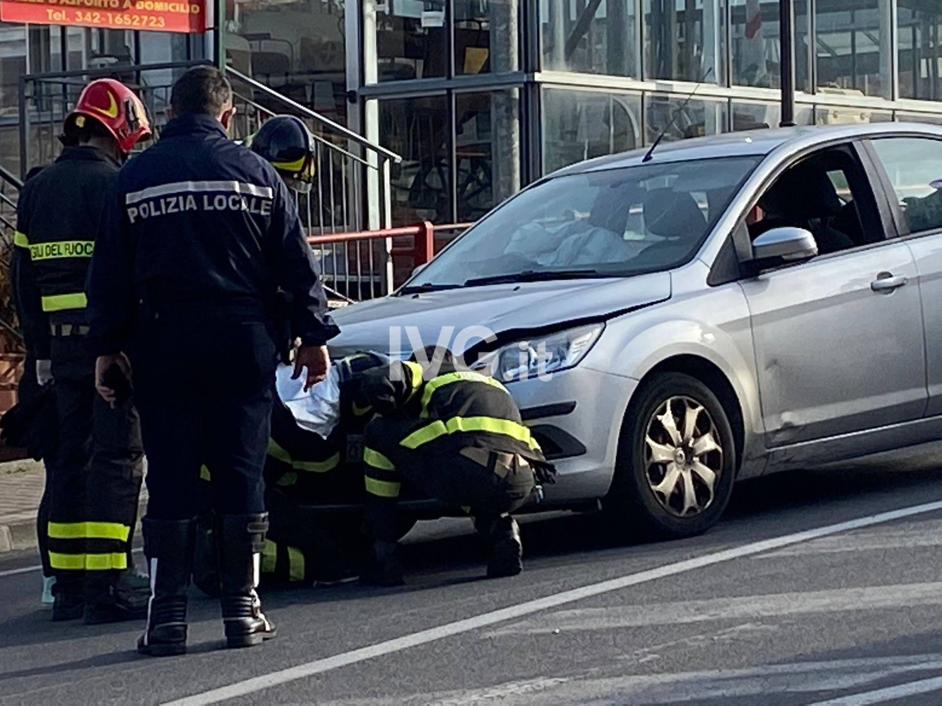incidente pompieri generica albenga