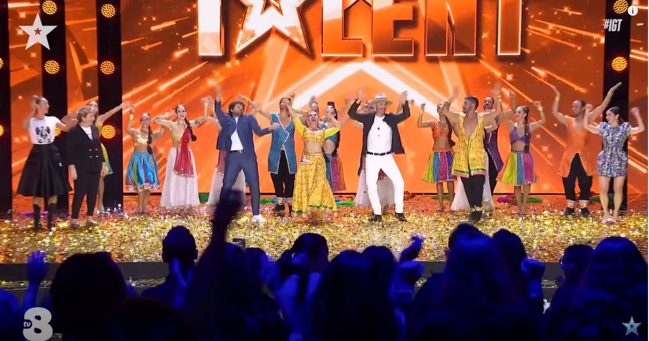 L'Asd Negma porta Bollywood a Italia's Got Talent