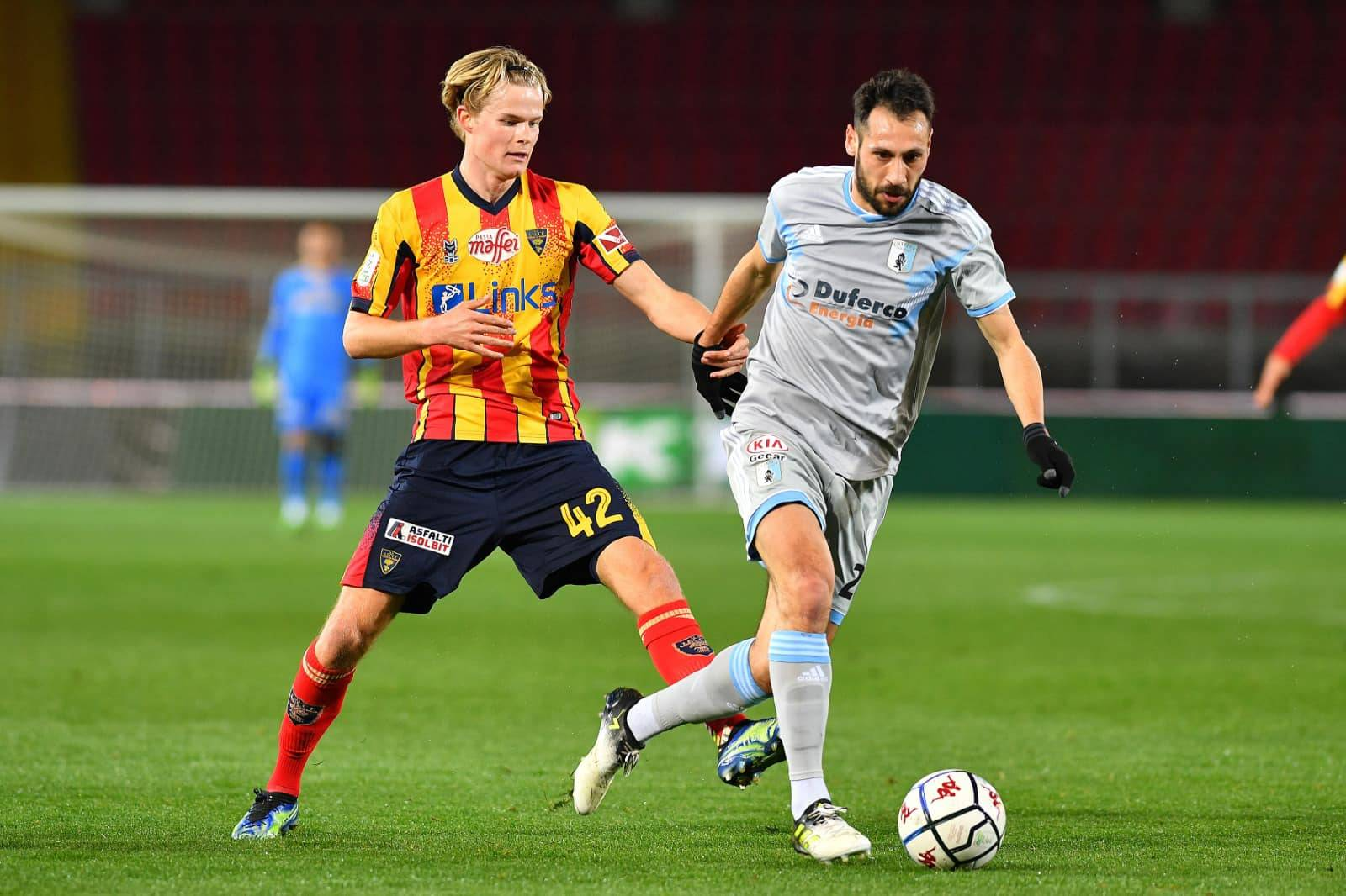 Lecce vs Virtus Entella