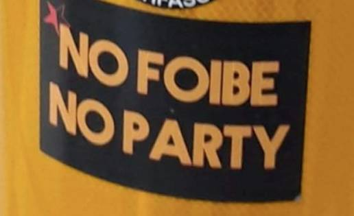 no foibe no party