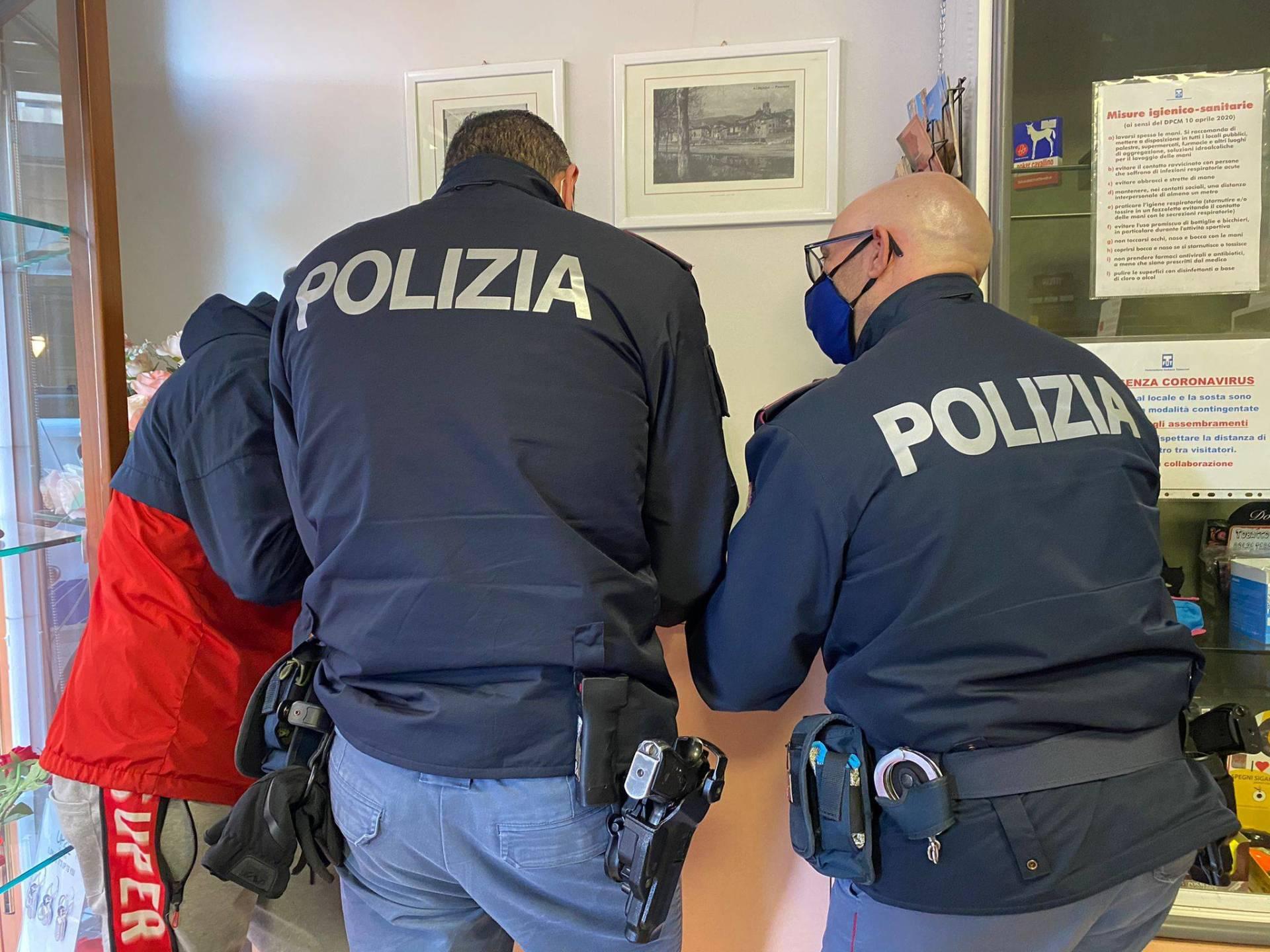 polizia alassio