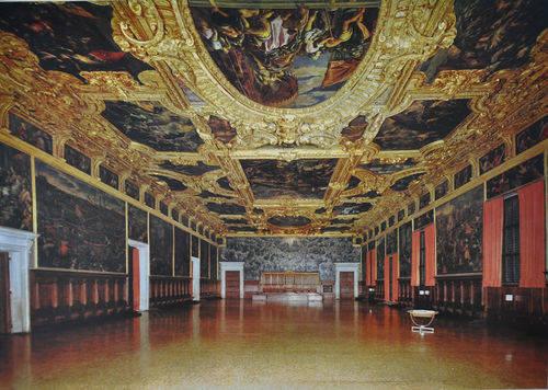 Sala del Maggior Consiglio a Palazzo Ducale