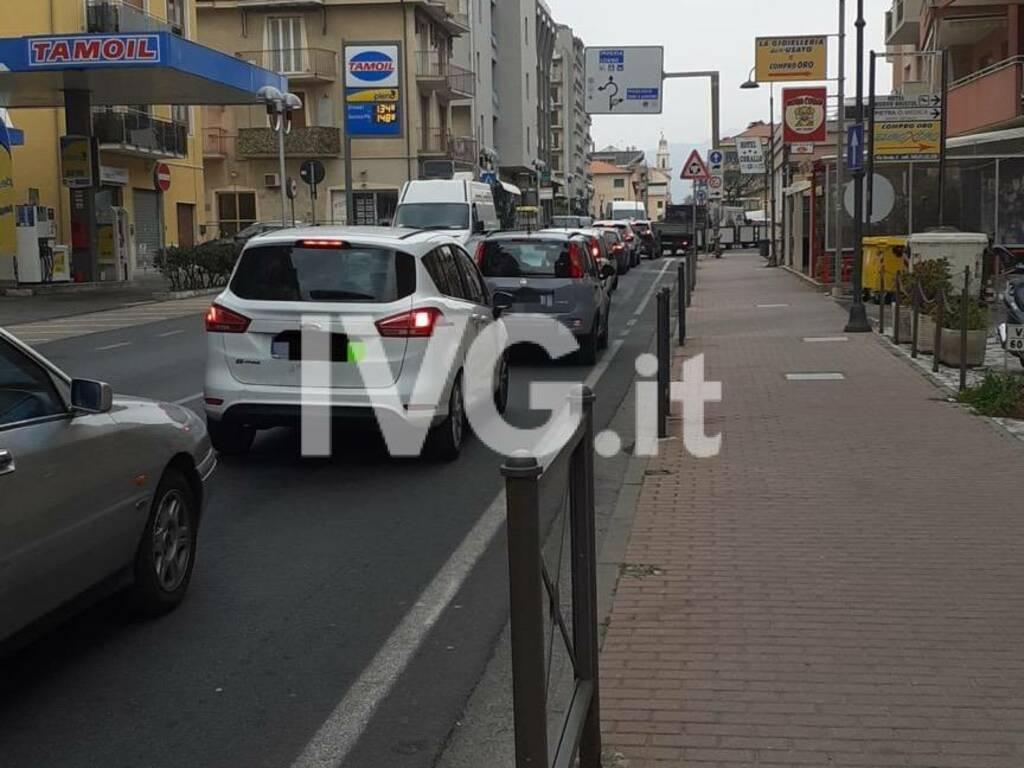 Schianto 10, traffico sulla via Aurelia in tilt