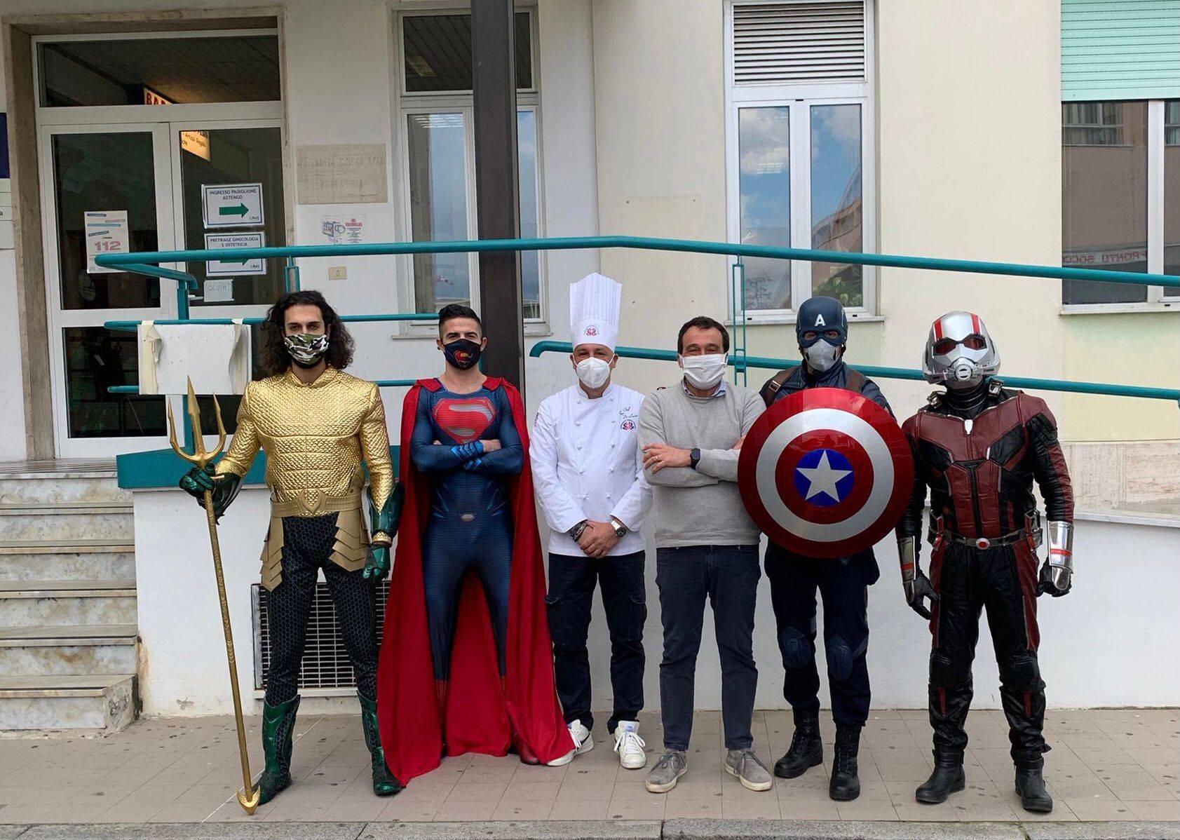 Supereroi lasagne al San Paolo