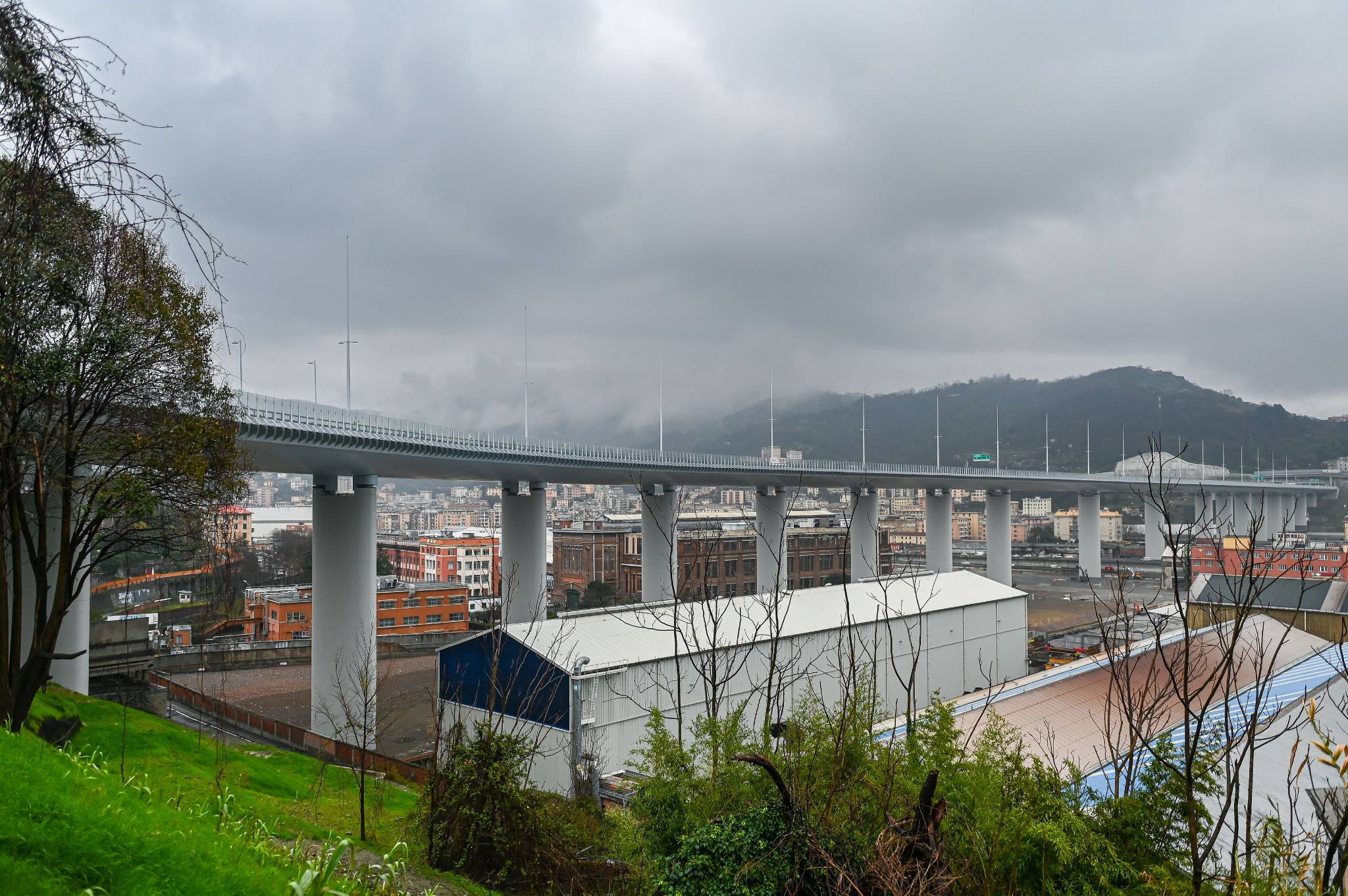 """Viaggio nella """"pancia"""" del nuovo ponte Genova San Giorgio"""