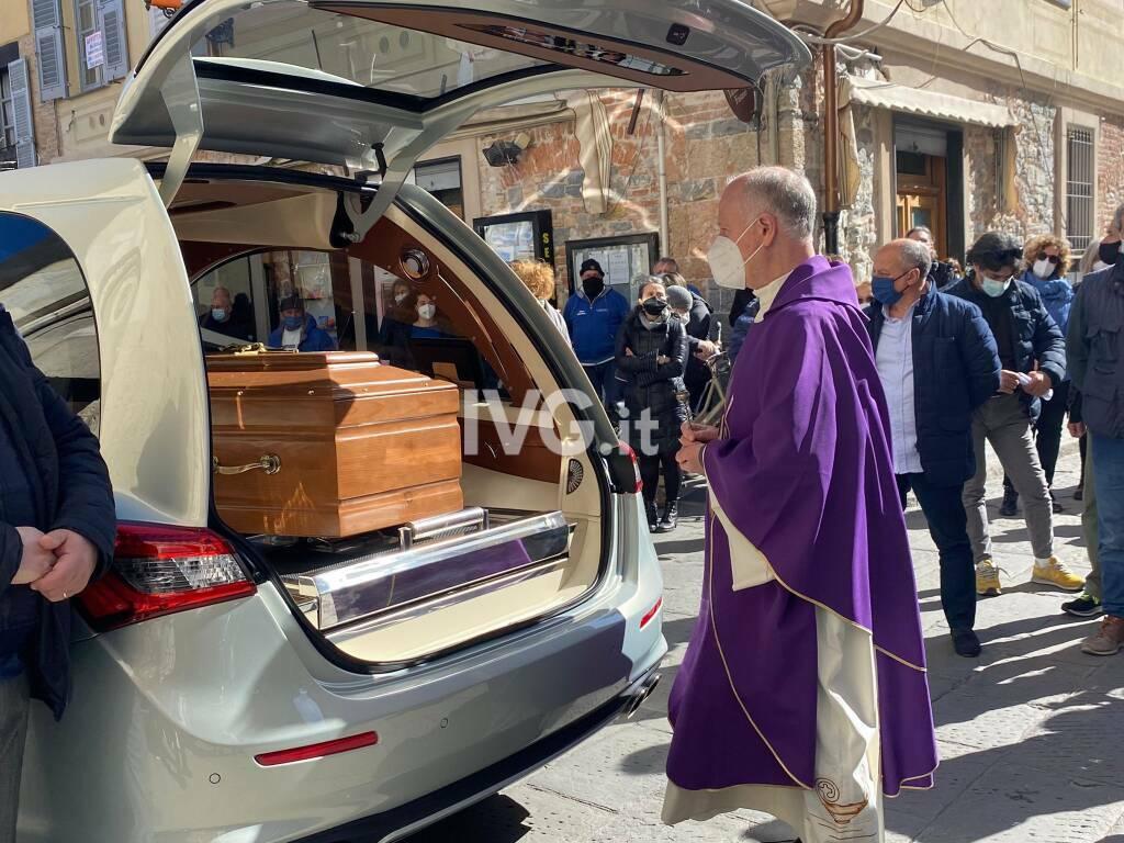 Ad Albenga l'ultimo saluto a Fabio Brandalise
