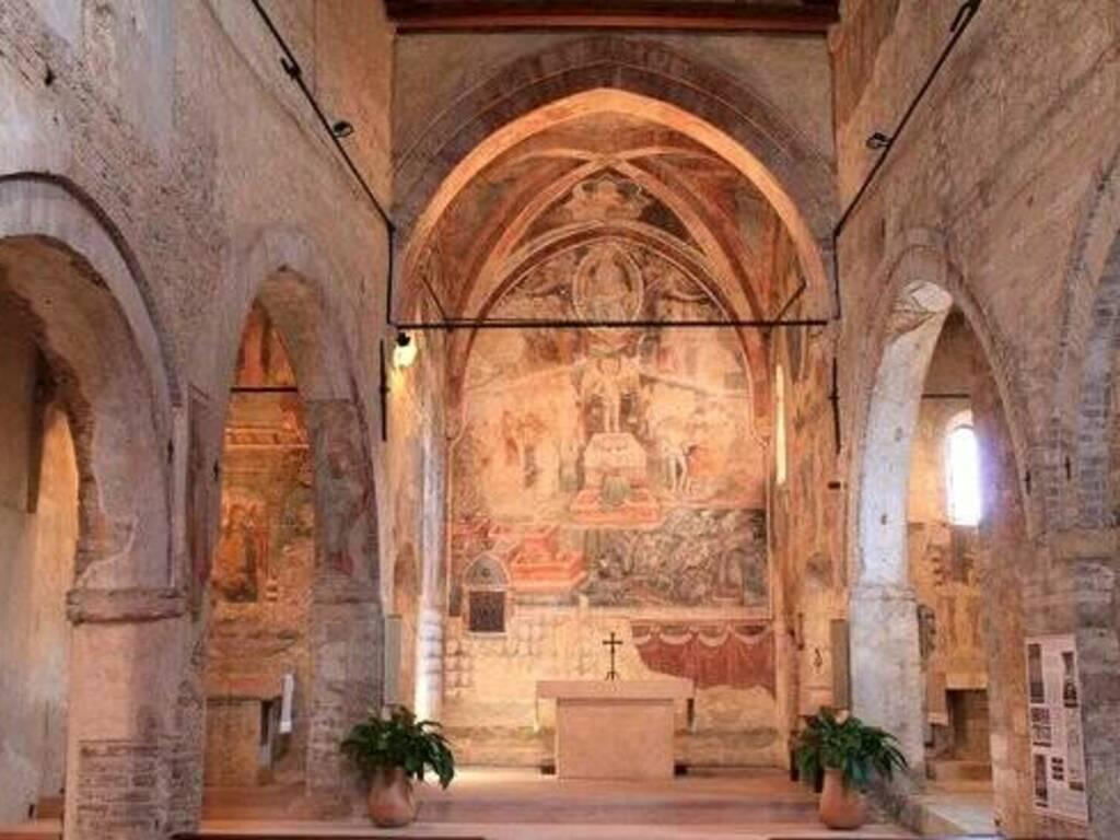 Albenga Chiesa San Giorgio Martire affresco Giudizio Universale