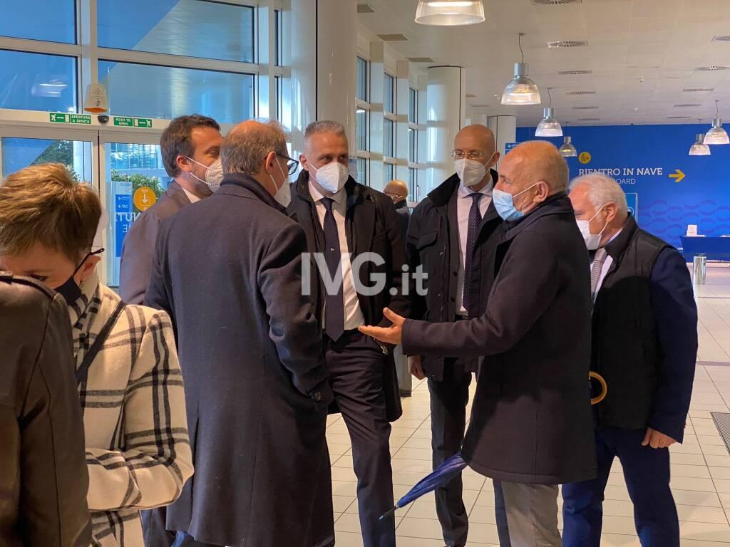 Autorità portuale, conferenza stampa del presidente Signorini