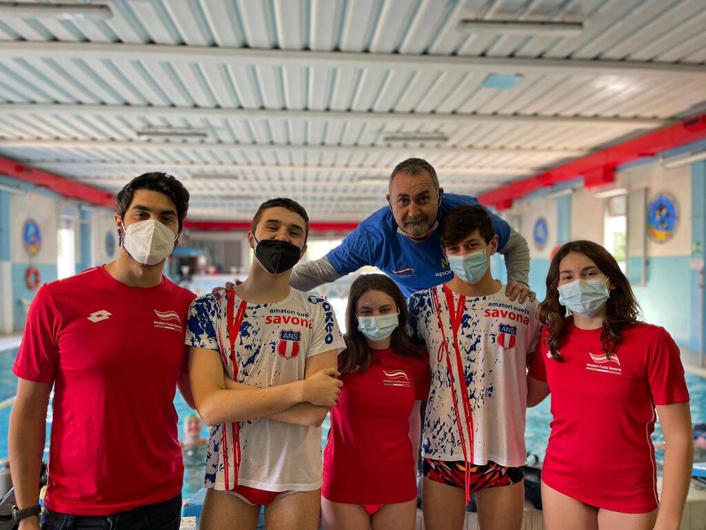 Amatori Nuoto Savona al Campionato Italiano di Fondo