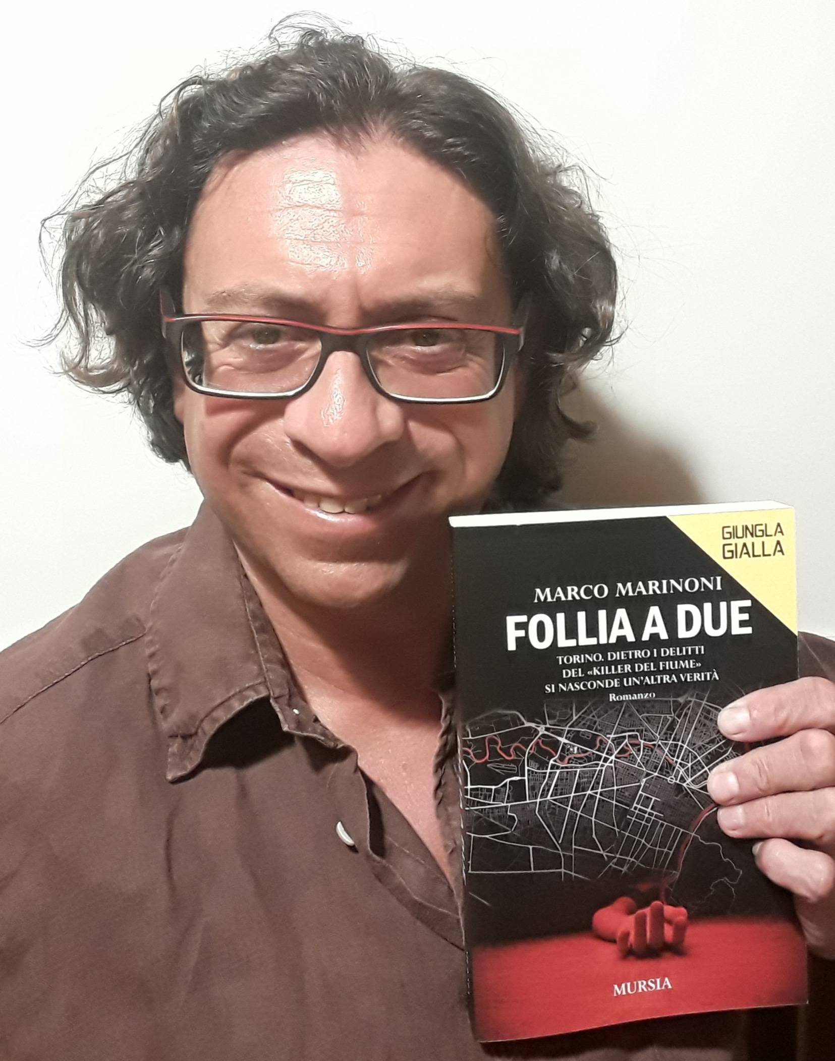 Giungla Gialla: Follia a due - in libreria il nuovo noir di Marco Marinoni
