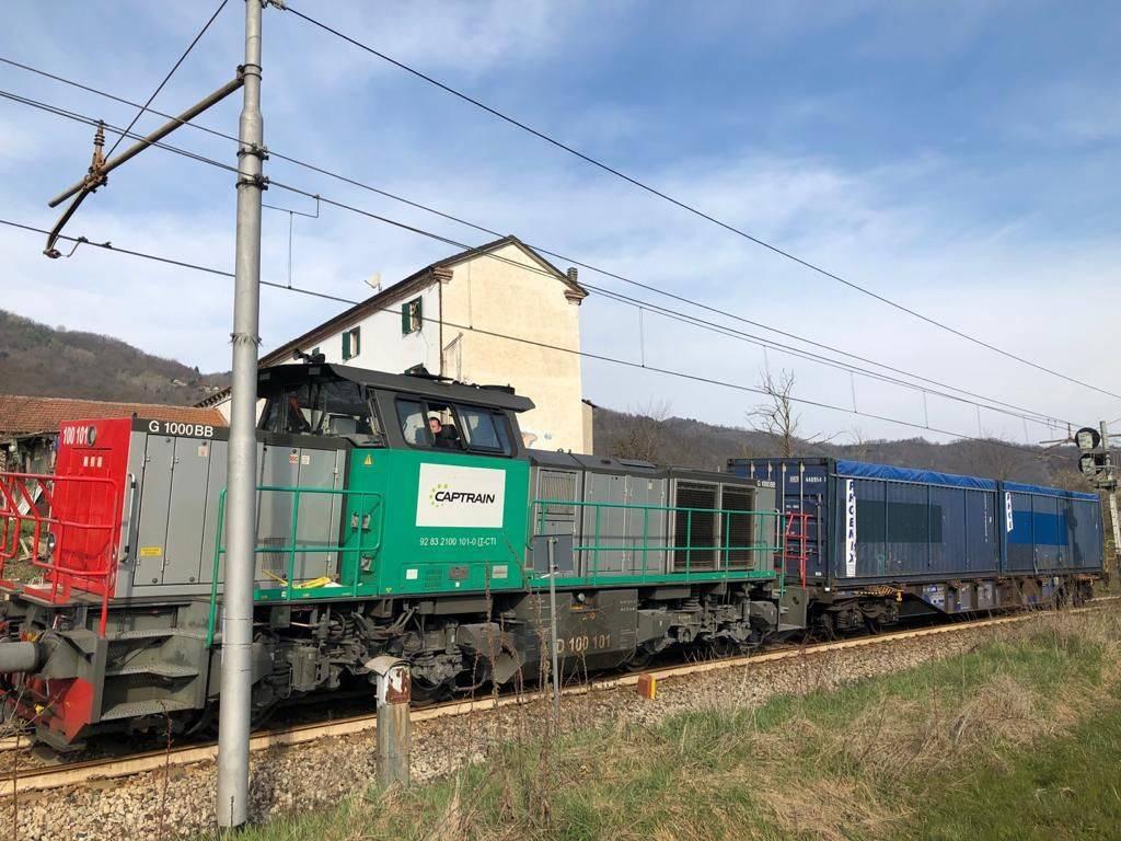 Italiana Coke Treno Ferrovia