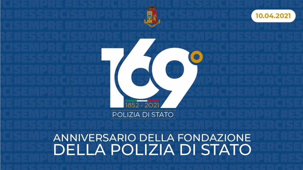 169 anni polizia stato