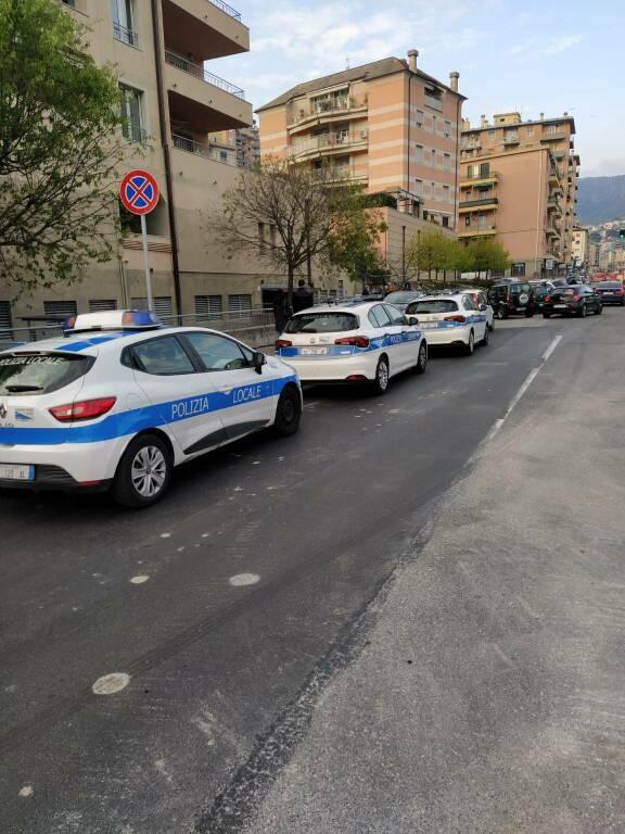 polizia locale, molassana