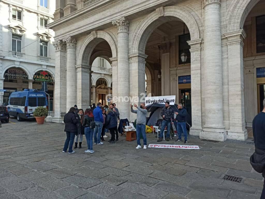 protesta ligure