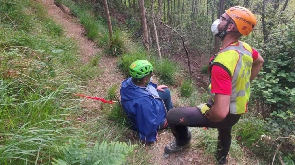 soccorso alpino sentiero
