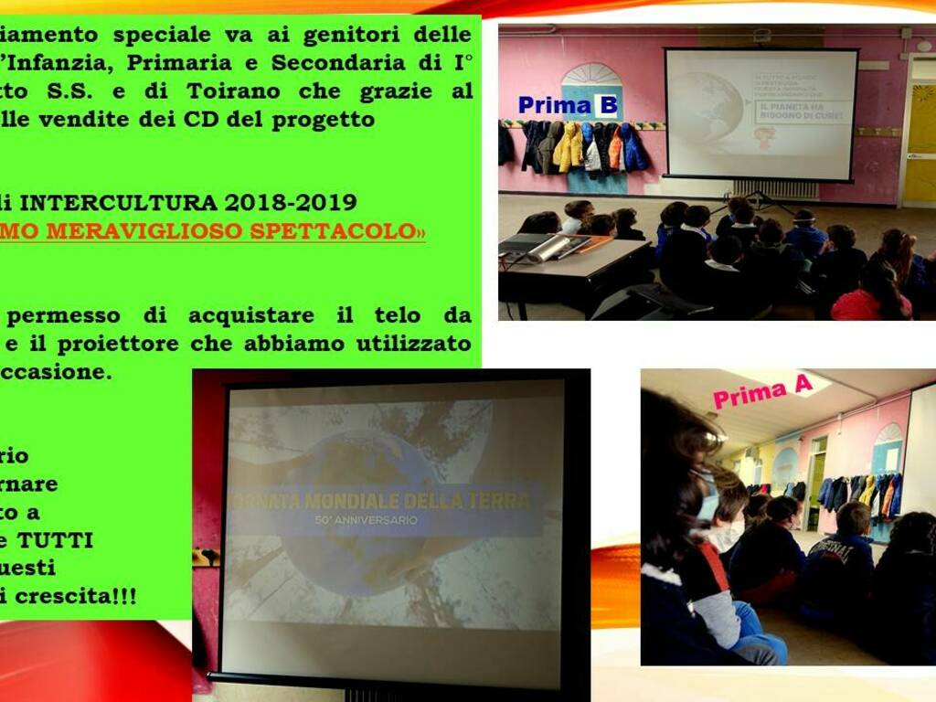Istituto Comprensivo Val Varatella - giornata mondiale della terra