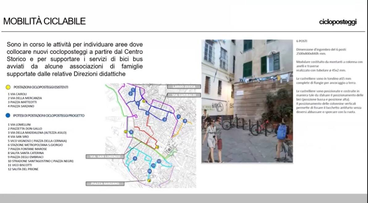 cicloposteggi centro storico