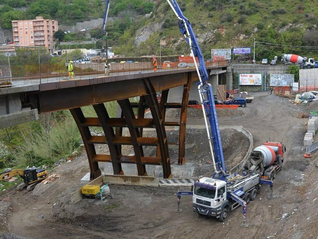 Gettata ponte Don Acciai