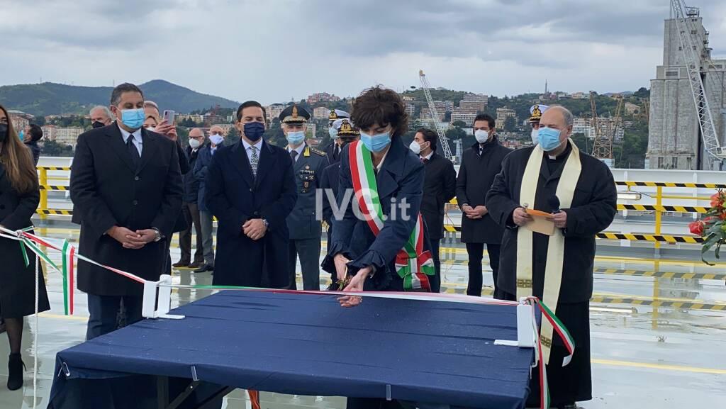 Il battesimo della nuova nave Eco Savona