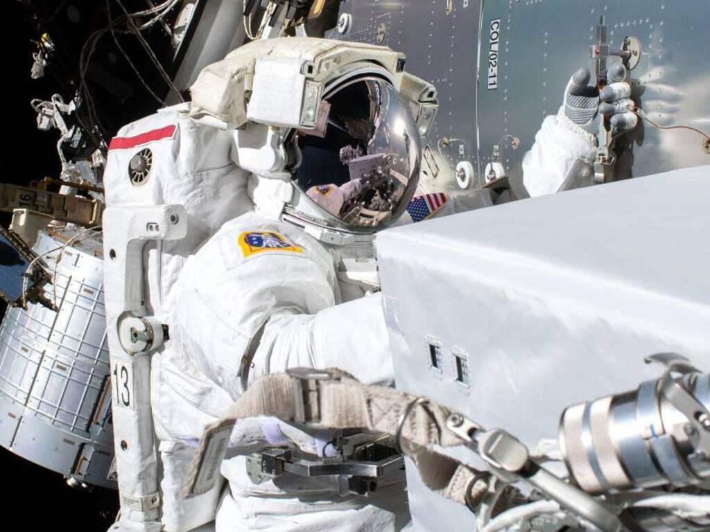 Stazione Spaziale Internazionale astronauta