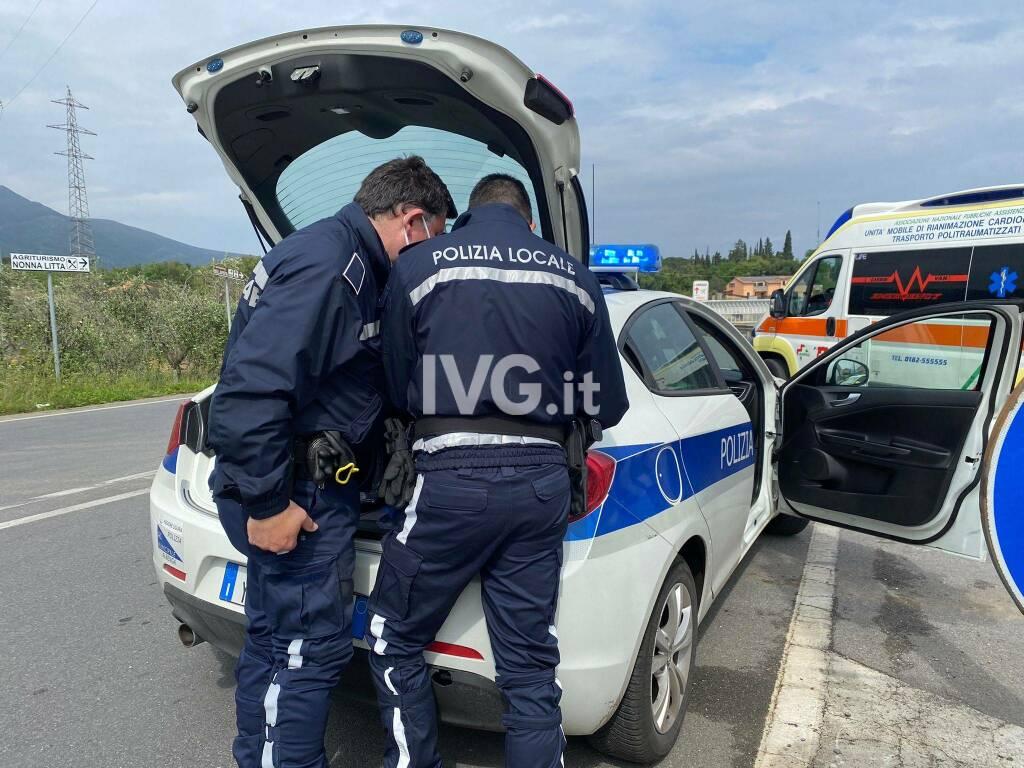Incidente stradale a Campochiesa