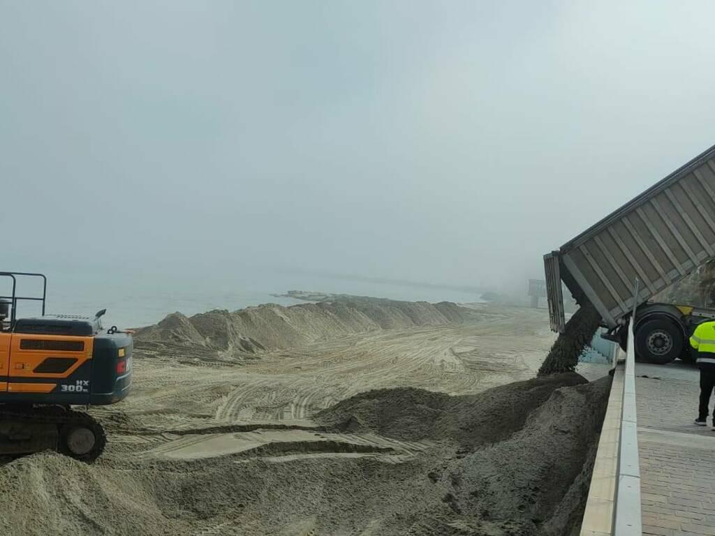 lavori spiagge laigueglia