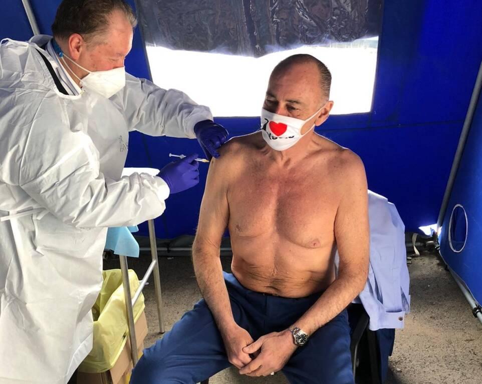 Marco Melgrati vaccino