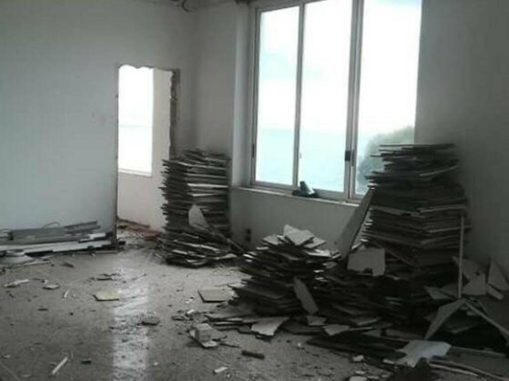 Preparazione demolizione cantieri Baglietto