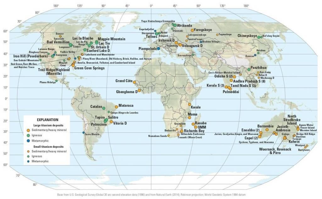Titanio nel mondo (no bordo bianco)
