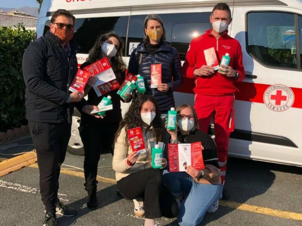 Varazze Croce Rossa nelle scuole