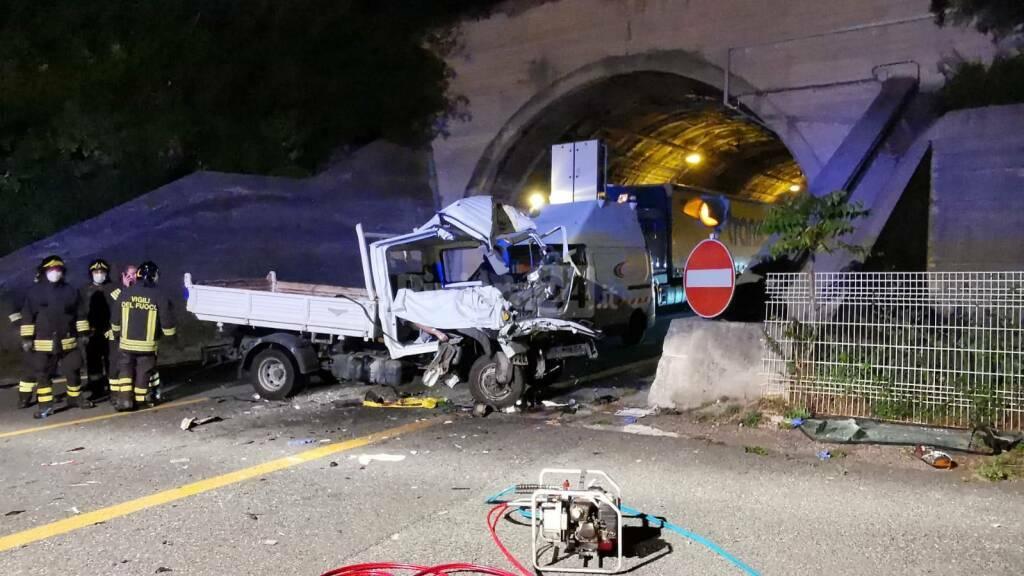 A10, schianto mortale a Ventimiglia