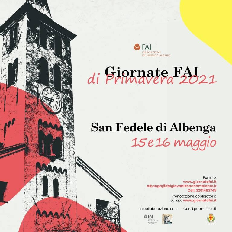 Albenga Giornate FAI Primavera 2021