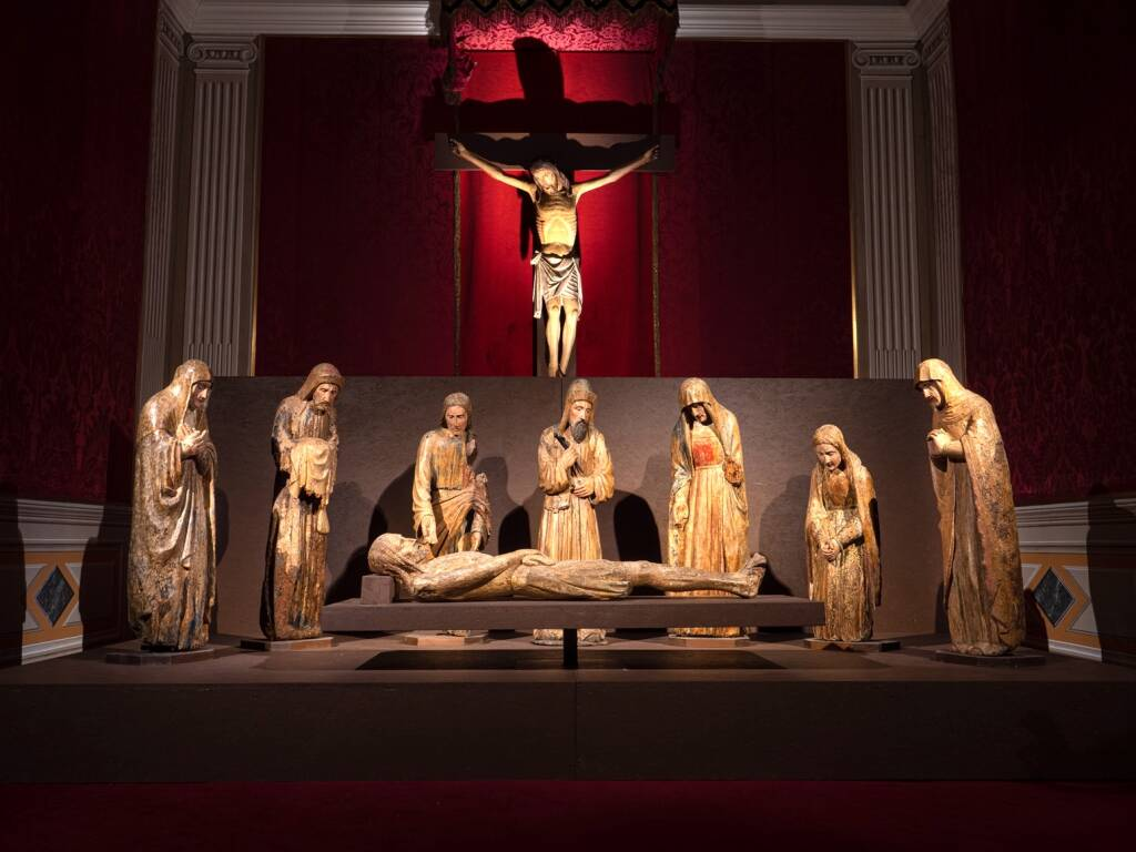 "Albenga ""Regnavit a Ligno Deus"" sculture Museo Diocesano"