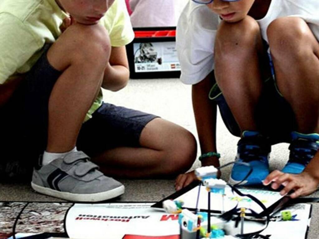 bambini robotica