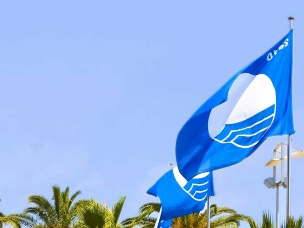 bandiera blu generica