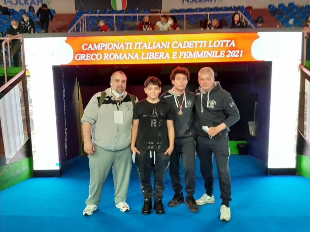 campionato italiano Cadetti di lotta