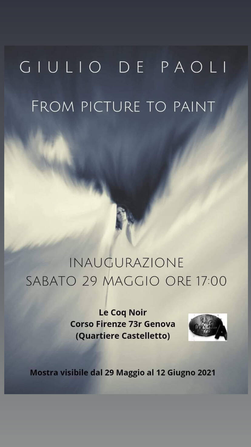 Mostra fotografica From picture to paint
