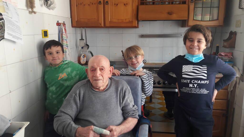100 anni nonno Giuan