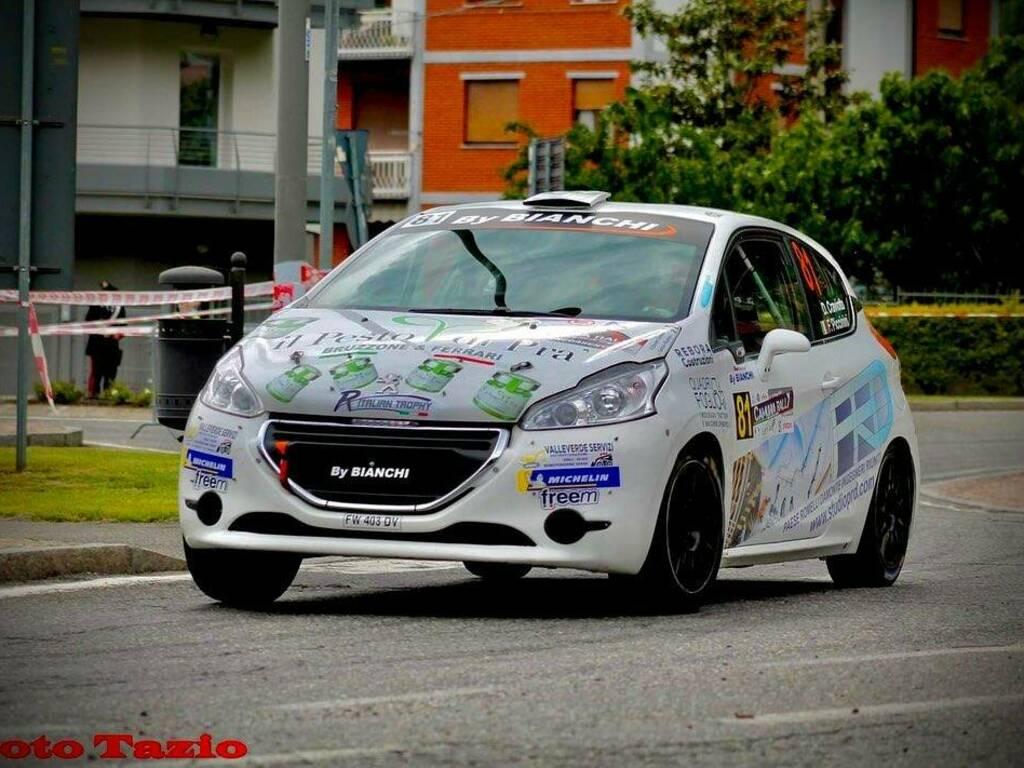 Il Camunia Rally soddisfa Davide Craviotto