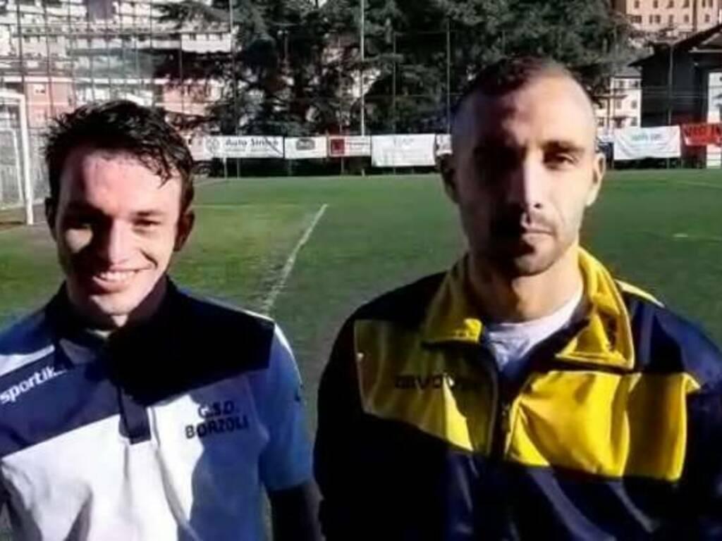 Emanuele De Vincenzo e Michele Colella