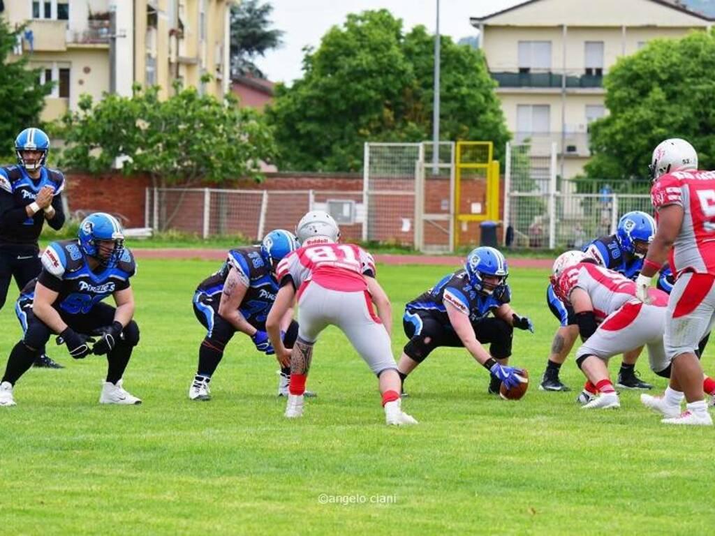 Football americano: i Pirates i campo contro i Red Jackets Sarzana